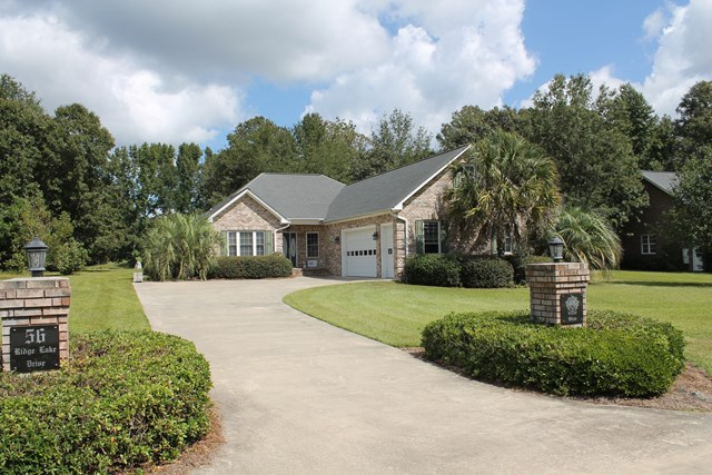56   Ridge Lake Drive Manning, SC 29102