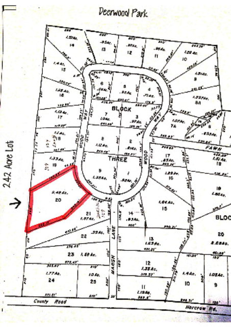 TBD 2.41 Acres on Woodway Dr.
