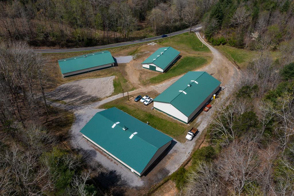 Love Lake Life? Looking for an extraordinary business where you can make a living on the lake? This is the best opportunity to do it! Hiawassee Dry Storage is an established business with a great reputation since 1994. With 4 Morton buildings totaling 20,324+/- square feet of storage plus heated workshop space! It includes both the real estate and the business so youve got everything you need for your business to flourish. Lake season is from April 1st and shuts down around October 15th, so you have the luxury of time during the off season. Owners will stay with you, teach you the ropes, and make for a flawless transition. Lots of pictures and details; call today for more information!