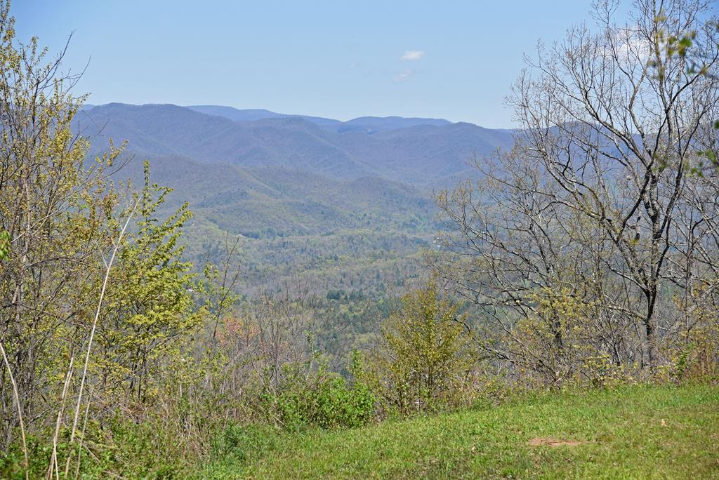 Top of the World Views!  Looking for a great location to build your Dream Home with EXCELLENT VIEWS?  This 4.36 acre lot has community water, underground utilities, cleared drive and homesite,  in a Upscale Gated Community convenient to town, shopping, local attractions.