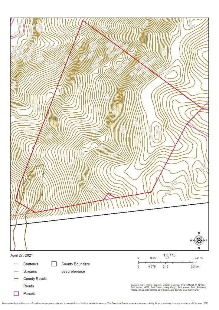 Where no man has gone before! Raw unrestricted land surrounded by United State Forest Services. Get lost on your own land. 4 parcels in 2 counties Swain & Macon county. 100+ ac, 16+ ac, 5ac, 1.59 lost land (find it and you can claim it) for a total of 123.719 acres.This is steep, sloping, and has flat ridge area on the top. This is a Treasure chest that you can buy and hunt, live, trade maybe to Forest Service for other lands? Who knows the riches that await you Tax value is at $633,310.00. It is an Estate Sale and seller has not seen land for over 30 years. There may be a ton of timber? Rushing creeks? Spring head? Paved roads? 3660 ft at top