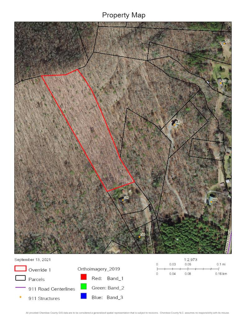 Beautiful almost 7 acres of UNRESTRICTED vacant land waiting to be your perfect mountain getaway!  There is a fairly level spot at the bottom for a home site or go up towards top and create your mountain view!  Close to Murphy, Blue Ridge, GA.