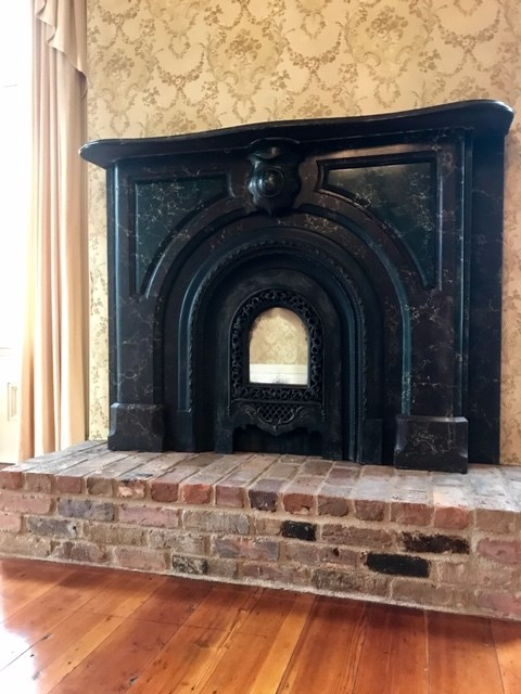 Mantle Front Living Room