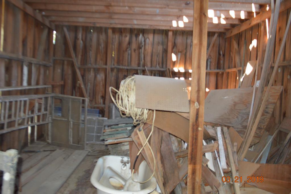 Horse Barn Storage