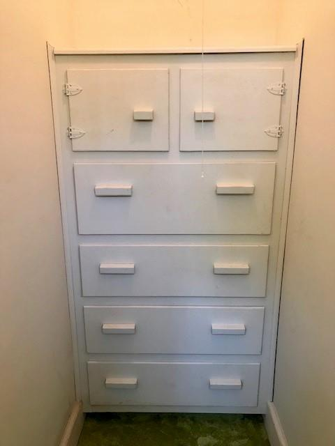 Built In in Hall Closet