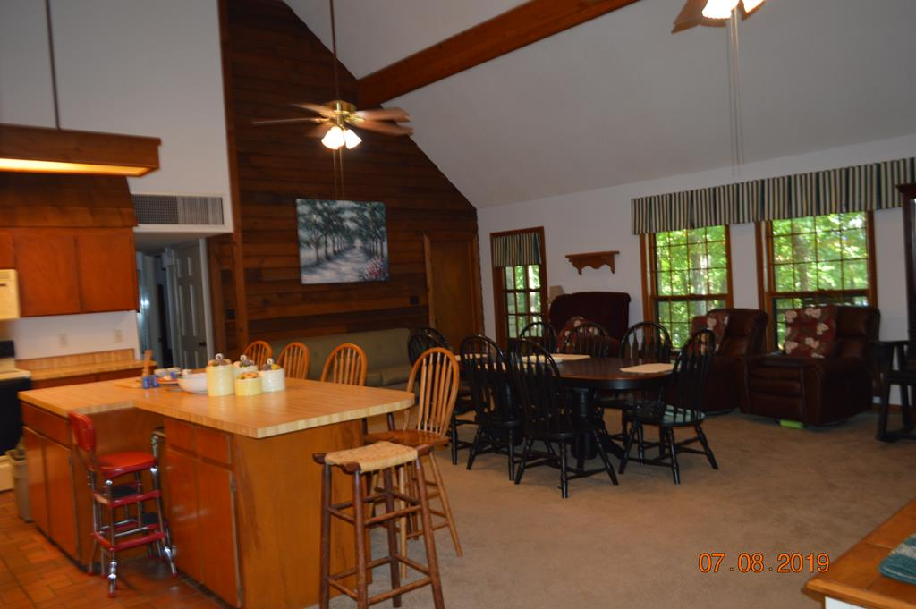 Family Room and Kitchen Bar