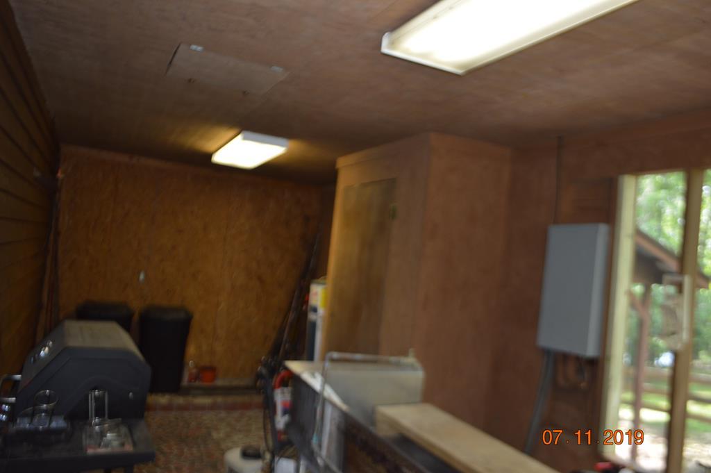 Attached Storage Room