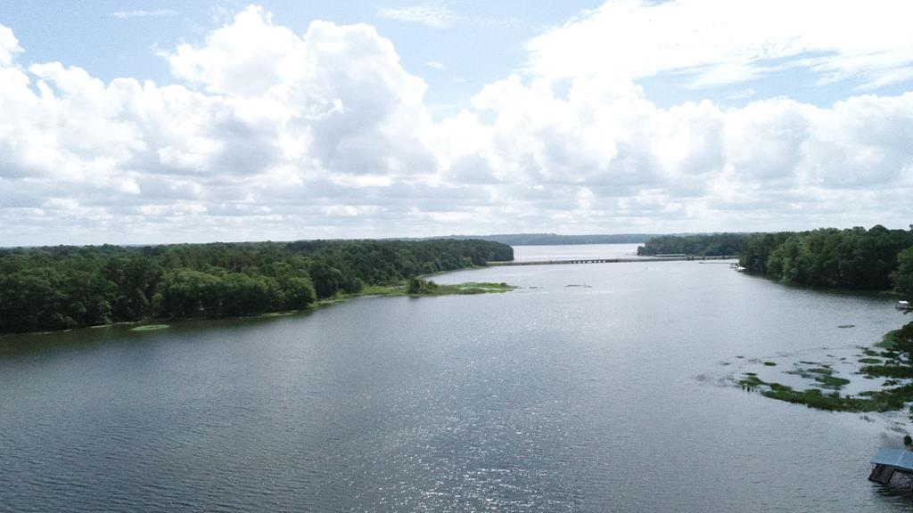 View of  Cowikee Creek Facing Lake