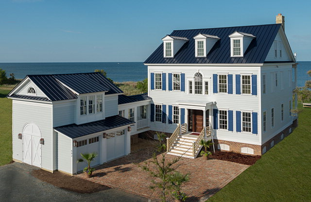 Please click on the included Virtual Tour to explore this property. The Littleton Tazewell House is designed by Our Town Plans and built by L.J.Kellam Construction. This is a waterfront, luxurious, custom home overlooking the Chesapeake Bay! Expansive decks on all three floors allows you to take in the gorgeous views. Master bedroom, with bay view, his/her private baths. Two guest bedrooms each with their own private bath and finished third floor entertainment room with butler's kitchen and full bathroom. Detached garage with finished suite above including bedroom and bathroom. Bay Creek's Community Amenities included: 2+ mile Private Beach, Community Pool/Tennis Courts, 27 Holes of Signature Golf, Pro Shop/Restaurant and Members Wellness Center. Golf Cart Friendly Community!
