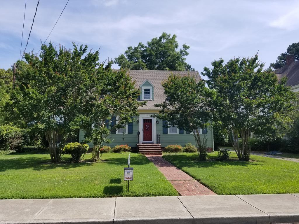 A remastered classic homestead with a new roof on house and garage with many other updates creating a very high quality property in the heart of Onancock close to eateries, retailers, and of course the water and other sights. Ebullient hardwood floors span the house with lovely original moldings. Kitchen is a focal point of the floor plan due to size and beauty making facilitating great meals for a family or anyone else.  Downstairs office provides an excellent place to work and be inspired looking out the window at great views or turn it into a bedroom and the neighboring utility room into a bath. The backyard is buttressed with multiple types and varieties of berry bushes and fruit bearing trees along with a Garden. Take advantage of this staple of the Eastern Shore while you can.