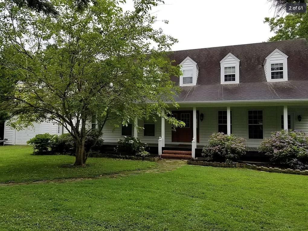Be in the center of Historical Onancock, on 3,605 sq. ft., 5 B/R, 3.5 bath on .71 Ac.  Plus beautiful waterfront w/boat dock.  Formal L/R & Formal D.R.  Family room w/2 double sliding doors open up to lg. porch w/water views. Eat-in-kitchen w/water views. Lg. 1st floor main B/R & bath that opens to waterfront & porch.  Upstairs has 4 lg. B/R plus a reading room.  Hardwood wood floors, crown molding & chair rail accent the home.  Enjoy small waterfront town: walk to the Post Office & town activities.  Catch fish from the Chesapeake Bay & drop your crab pot for a seafood feast.   New hospital within minutes, restaurants, theaters, art galleries.  A real time place to drop your anchor & live.
