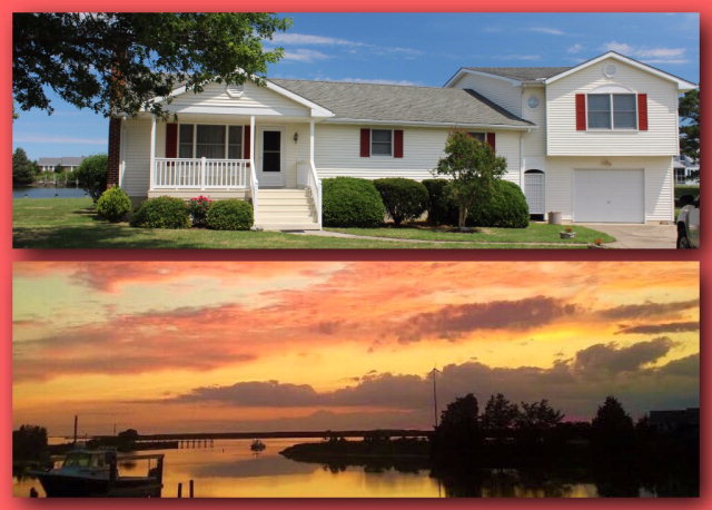 SUNSET VIEW---DEEP WATER!!!!----The views from this beautifully maintained home are spectacular! Imagine having dinner in the sunroom overlooking Cheseconessex Creek, watching a red and lavendar Summer sunset! The property has a nearly new 180' vinyl bulkhead on deep water with plenty of room to dock and turn a large power or sailboat----a rare find these days! 8,000 LB. Boatlift. Great swimming, boating or fishing off the dock! The home has a recently added PRIVATE 2 BEDROOM GUEST SUITE above the garage with its own private deck overlooking the canal and creek. Just a 10 minute drive from Historic Onancock--its galleries, fine restaurants, Farmers Market, Community Playhouse and more! NOTE:Home Square footage and room sizes are approximate. NEW upstairs Heat pump being installed in JULY!