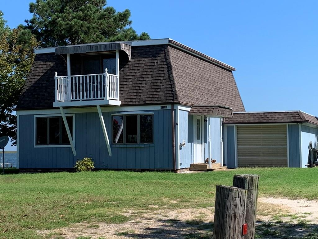 This is a beautiful property right on the water.  Fantastic view!  Dock & bulkhead.