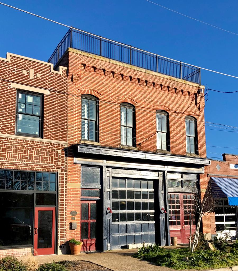 Location Location Location..OLD FIREHOUSE.. Historic tax credits were used to do a full restoration on this commercially zoned handsome brick building ( circa 1930)  located in the heart of historic Cape Charles only 4 blocks to the beach. First floor is ready to be used as a restaurant again with up to 70 seats.Commercial kitchen,gorgeous hand crafted bar, fireplace. intimate dining spaces on 1st floor and mezzanine.. Entire second floor consists of a 2200 sq.ft New York loft style apartment with huge windows offering an unsurpassed view  of Cape Charles and the town harbour. Penthouse is located on the third floor with access to the roof top. Elevator access to all 3 floors. All furniture and furnishings convey. Exposed brick walls thru-out. Quality craftsmanship and period architecture,