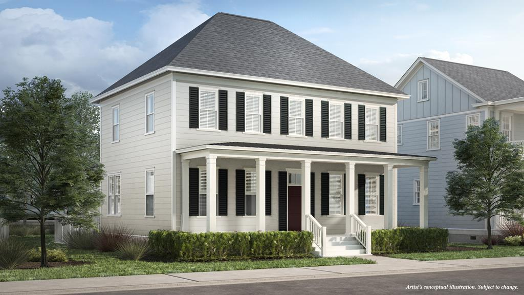 Welcome to the Charles. Authentically Eastern Shore, this floorplan was designed to make the most of life along the Bay. Generous covered porches in the front and back of the home will be an extension of your living area in our mild, coastal climate. Inside, flowing spaces are ideal for gathering, preparing and sharing a meal among friends after a memorable day on the beach or exploring Cape Charles. The main level owners suite opens to the back porch and provides a luxurious master bath and ample storage. Upstairs, three well sized bedrooms offer views in all directions. The Charles is an ideal layout for your familys new homeplace. Enjoy making it uniquely yours with fine finishes and luxurious details.