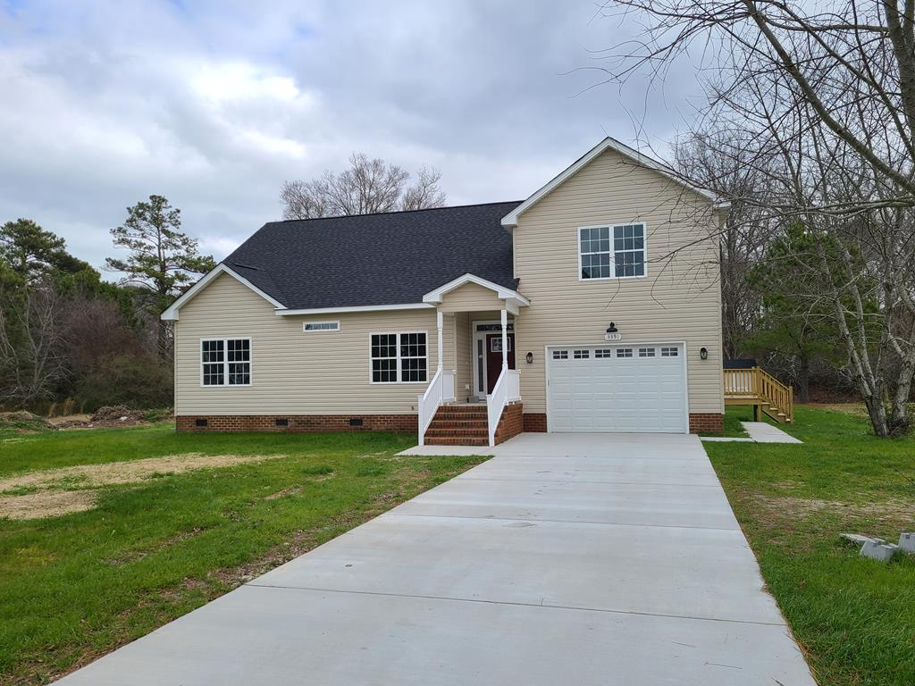 NEW CONSTRUCTION breaking ground April 2021. Easy living in this open concept rancher with convenience of attached garage off the kitchen. Built in an established community near the state park beach, its not far from the bridge tunnel or the town of Cape Charles. Low Maintenance design with covered front porch and grilling deck out back. See floor plans under document tab.