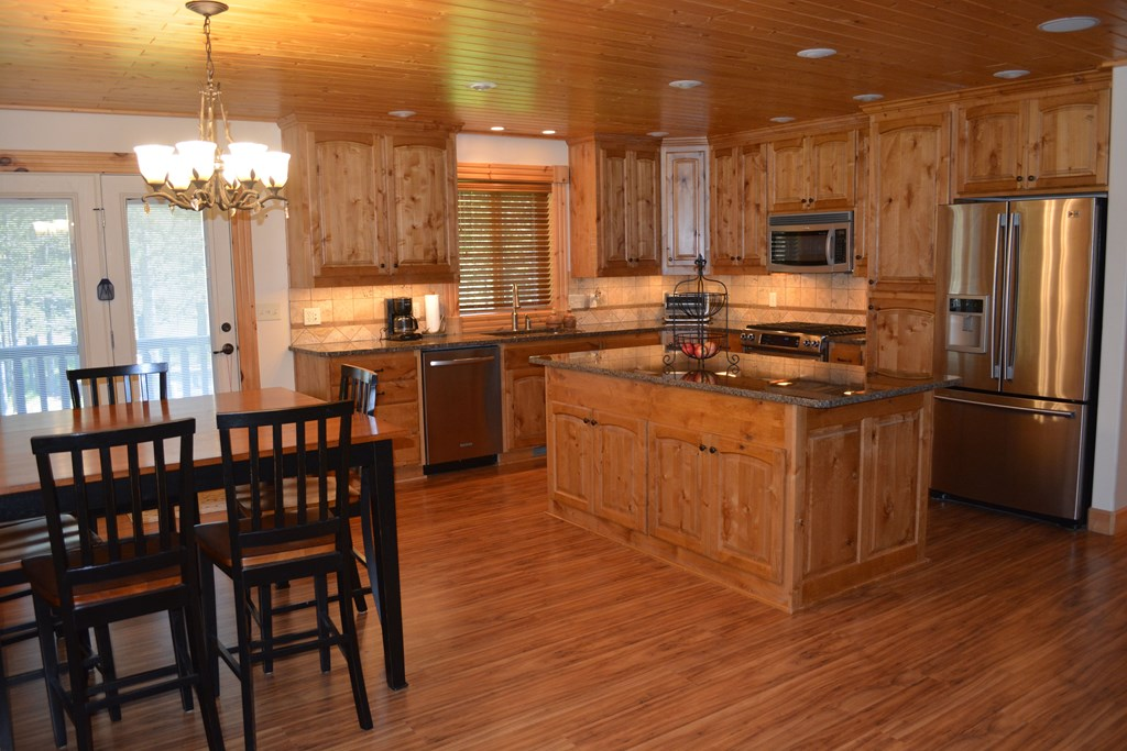 dining-kitchen view