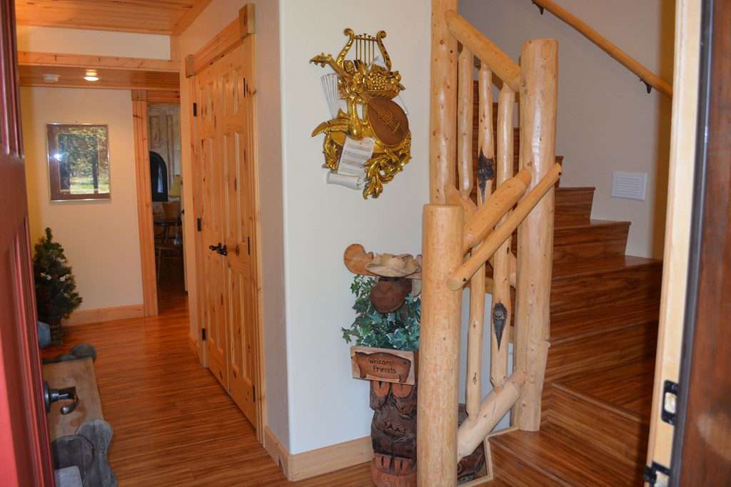 entry way of cabin