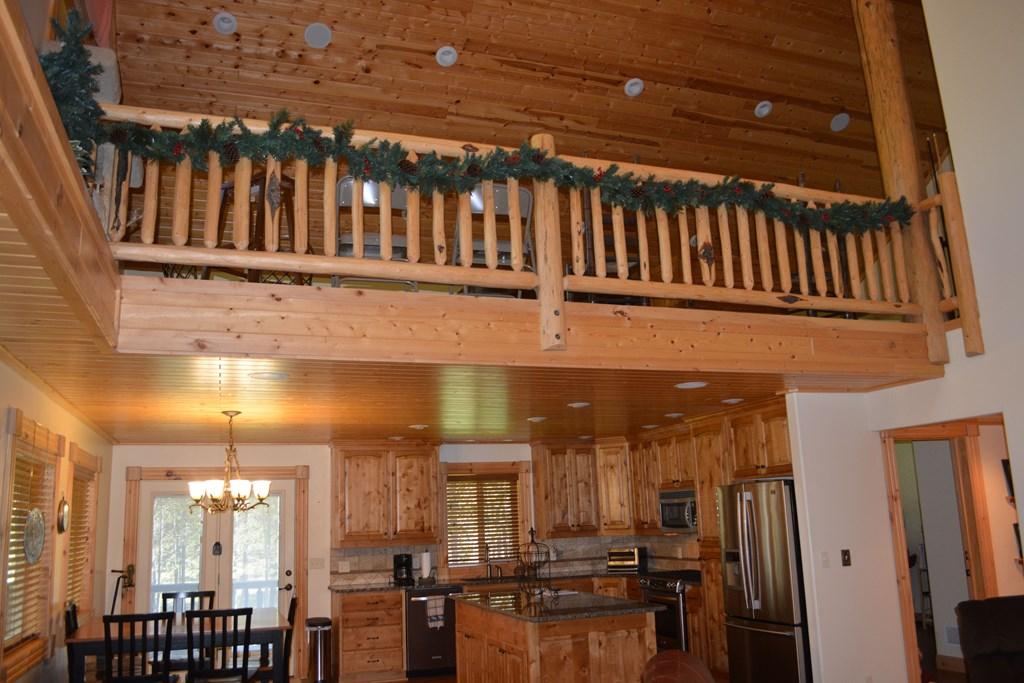 upper loft area