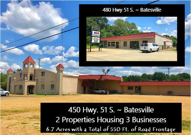 450 Highway 51 South, BATESVILLE, MS 38606