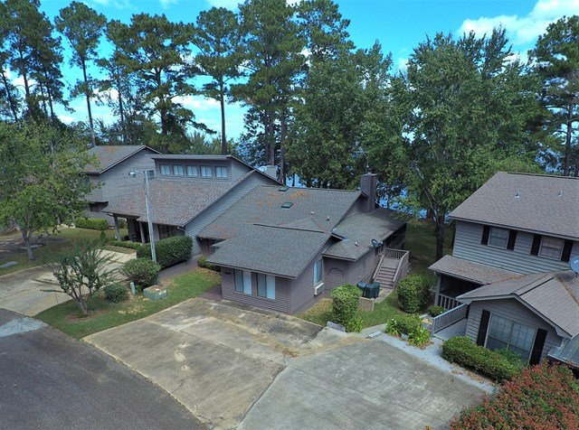 Drone photo aerial view of property