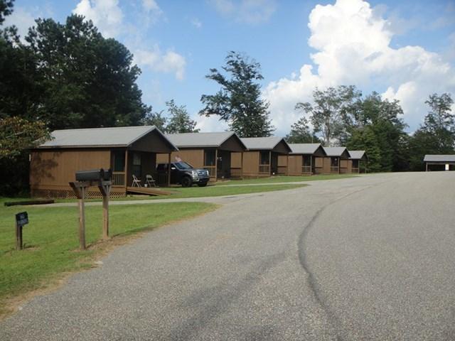 Left side cabins