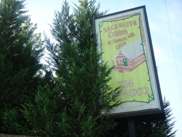 Sign at Road