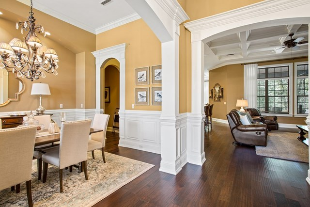 Dining room to Grand room