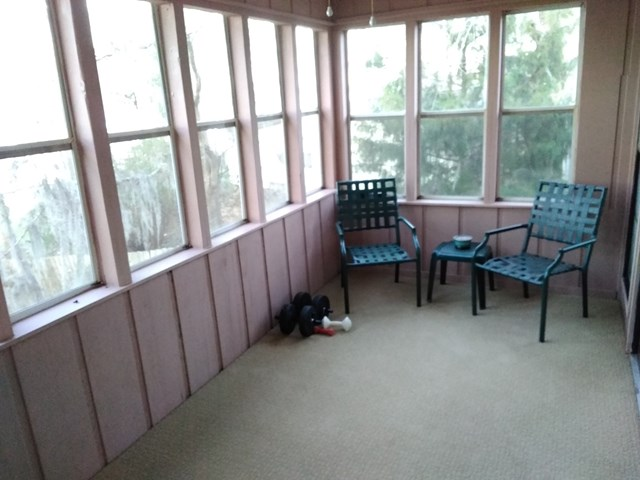 Sunroom upstairs