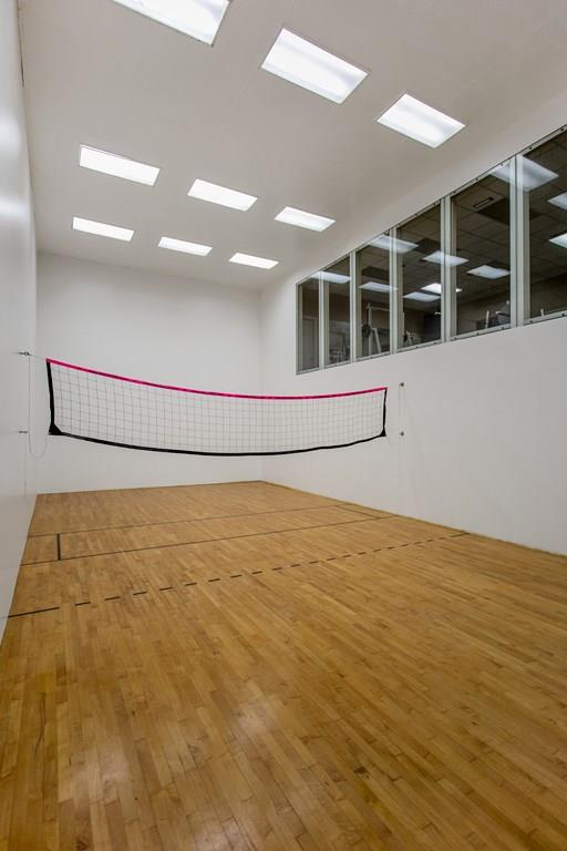 Raquetball court/volleyball