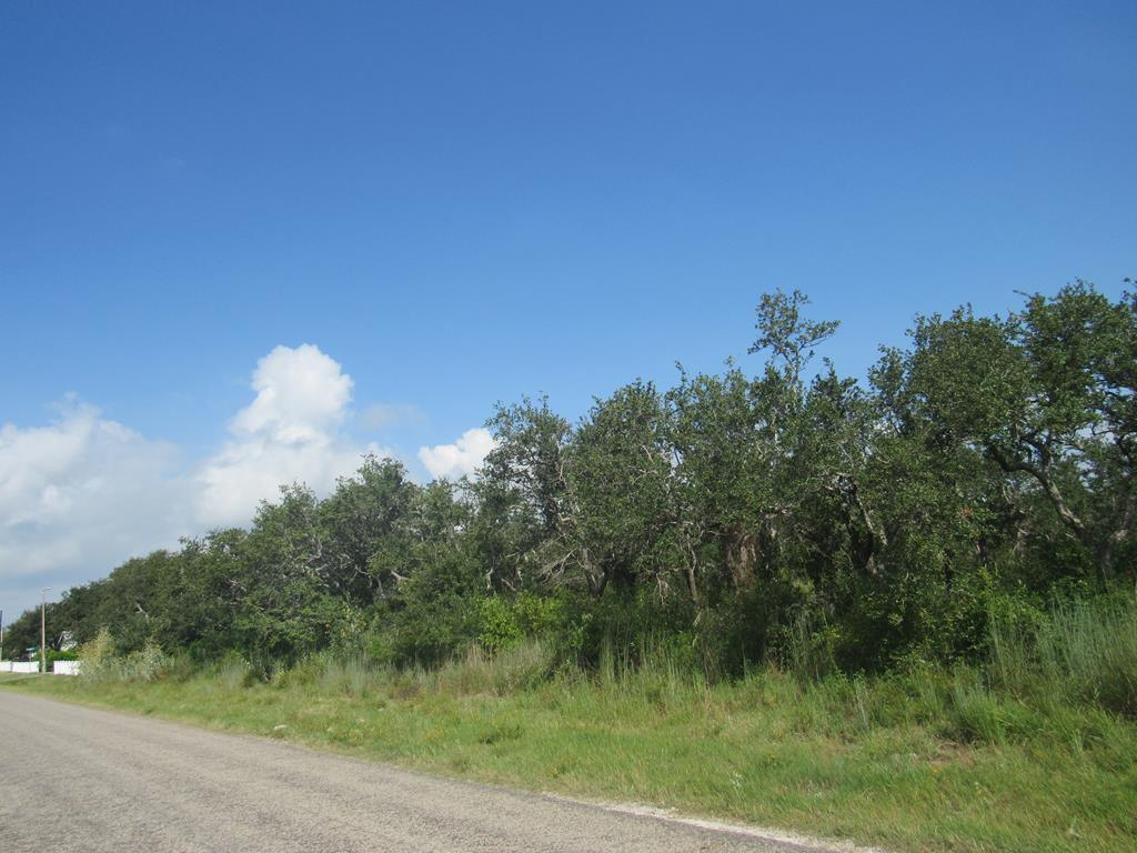 One of a kind to build your own oasis or develop it! 4.17 acres with beautiful oak trees in convenient location in the middle of the Rockport-Fulton peninsula near everything, including Copano & Aransas Bays for fishing, kayaking, birding and short golf cart ride to all Fulton's downtown restaurants, shops and fun! Easy access to HWY 35 bypass to Corpus!