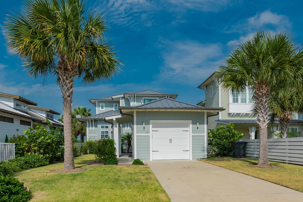 LIVE & BREATH the COASTAL LIFE! You will love living in this upscale high-end community. Upon entering this beautiful custom home, your eyes are drawn to the wall-to-wall windows overlooking the beautiful waters of St Charles Bay. Imagine sunrises & wildlife at your fingertips! The home offers water views from multiple vantage points. Upstairs game room, master bedroom, living, kitchen & dining. The French doors open out to a covered patio with a hanging bed for the lazy afternoon naps with southeastern breezes. And the upstairs game room also opens up to covered terrace with breath taking views of the open water. Upgraded appliances, fireplace with custom ship lap walls, and custom ceiling beams are just some of the features that make this home a stunning showplace! The Reserve community offers high-end resort amenities: Resort pool w/cabanas, Hammock Park, w/grills, firepits, stage. Mile long lighted boardwalk with 400 ft pier where you can park boat. Don't miss out of this home!