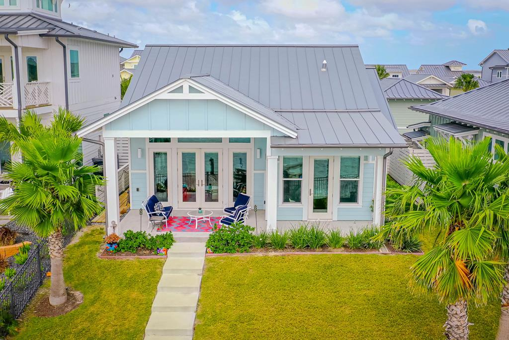UPGRADES GALORE! - This immaculate water front home has many extras: Shiplap accent walls, boat storage garage, boat dock & lift, fenced in back yard. Soft coastal colors, from paint, shiplap accents, upgraded granite...makes this home the perfect COASTAL GETAWAY! The Reserve at St Charles Bay is a private gated upscale community. The Reserve offers high-end resort amenities: resort style pool w/cabanas, 2-acre Hammock Park with grills, fire pits, stage & hammocks, mile long lighted boardwalk, 400ft. fishing pier with fishing cleaning station & green lights underwater for night fishing.