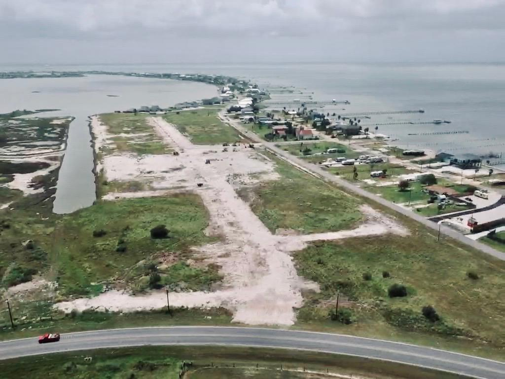 Sunset Shores is a new upscale canal community (41 lots available). Connected to Salt Lake, and just minutes to the open bay waters. Build your dream home! Community will have a boat ramp for homeowners, sidewalks & community park area. Listing ($230,000) is for Lot #4 (waterfront) . OR Chose from 41 available lots. 18 are waterfront and others are interior. City water & city utilities (underground). This will be the new premier community in Rockport & buyers will love this area! Interior lots are approx. 14,000 Sq ft. and waterfront lots are approx. 25,000 sq ft.