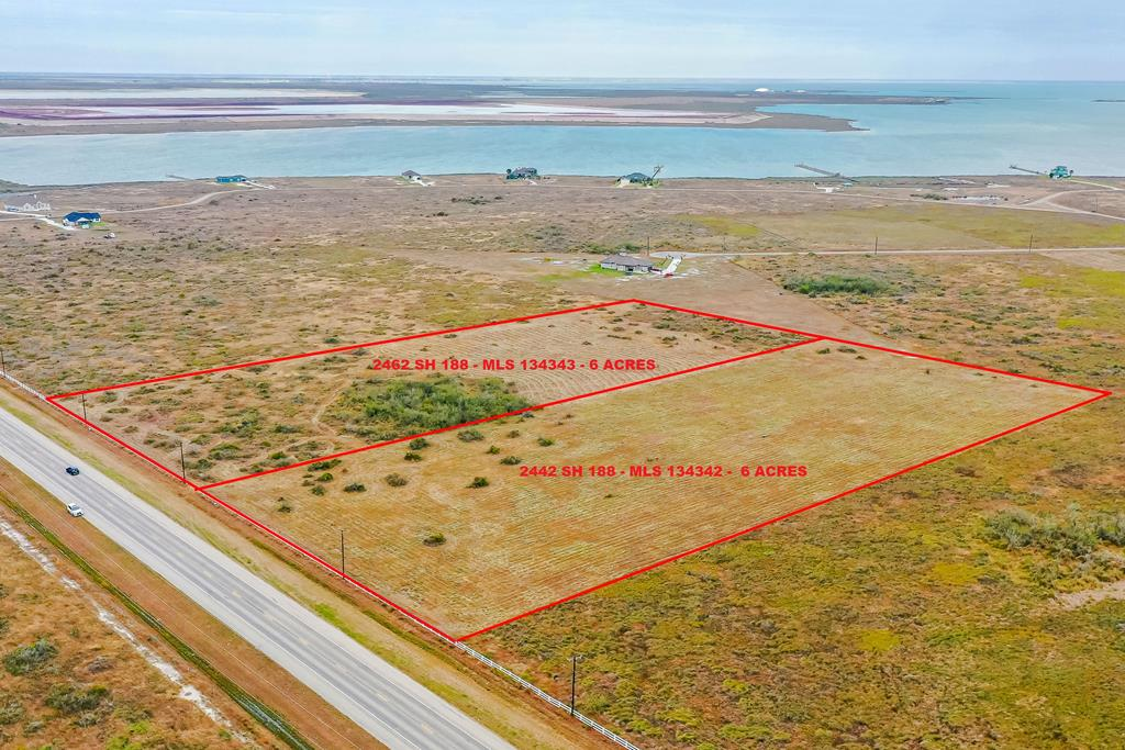 Nice 6 acres lot in one of the most beautiful Port Bay-Copano Bay subdivision surrounded by beautiful homes and the most amazing sunsets and fishing, minutes from downtown Rockport, Texas, Sunset Bay community offers fishing pier, park, nature trail, with roads, water, electric and underground utilities in place perfect for a retirement or fishing retreat! Aransas Pathways kayak site near by, great bird watching! Easy access to Sinton, Portland & Corpus. The lot next to this one is also for sale, check MLS#134343. Go to www.sunsetbaypoa.org for restrictions and tap fees. More pictures soon.