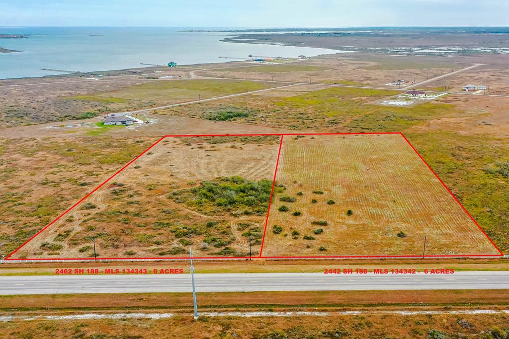 Nice 6 acres lot in one of the most beautiful Port Bay-Copano Bay subdivision surrounded by beautiful homes and the most amazing sunsets and fishing, minutes from downtown Rockport, Texas, Sunset Bay community offers fishing pier, park, nature trails, with roads, water, electric and underground utilities in place perfect for a retirement or fishing retreat! Aransas Pathways kayak site near by, great bird watching! Easy access to Sinton, Portland & Corpus. The lot next to this one is also for sale, check MLS#134342. Go to www.sunsetbaypoa.org for restrictions and tap fees. More pictures soon.