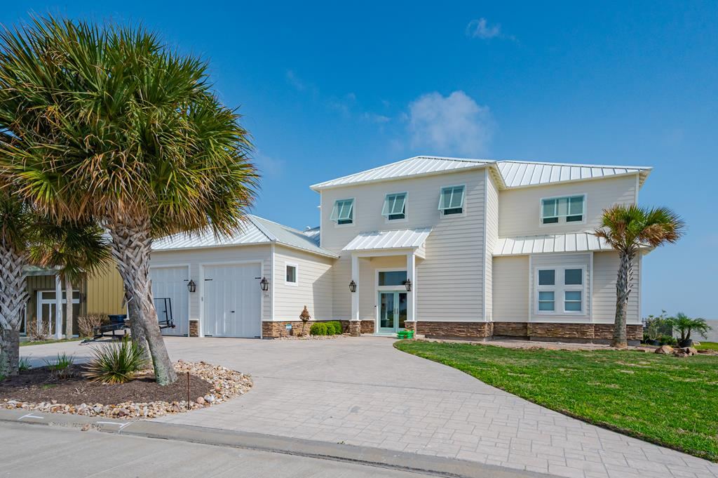 ONE OF A KIND! Bayfront custom home with all high-end features! Pool overlooking the water with complete views from every room in the home. Enter the home and the view will take your breath away. It has all glass folding NANO doors that go out to patio! HUGE gourmet kitchen with open concept. Great for entertaining family & friends. Master is HUGE and downstairs with WINDOWS & WATER VIEWS! No feature was left untouched. Guest bedrooms each have their own private bath. BEST Bunk room EVER designed for the kids! Each bunk has its own TV mounted. Upstairs has a Tv/Game room for guests to enjoy. HUGE balcony upstairs with access from each guest bedroom. Outdoor shower and NEW outdoor Kitchen! All this in the beautiful HIGH END resort community of The Reserve @ St Charles Bay. Enjoy the 1 mile lighted Boardwalk, Hammock Park, Community pool with cabanas, Firepit area with lighted deck for night fishing! You need to see it to believe this AMAZING this home & community!
