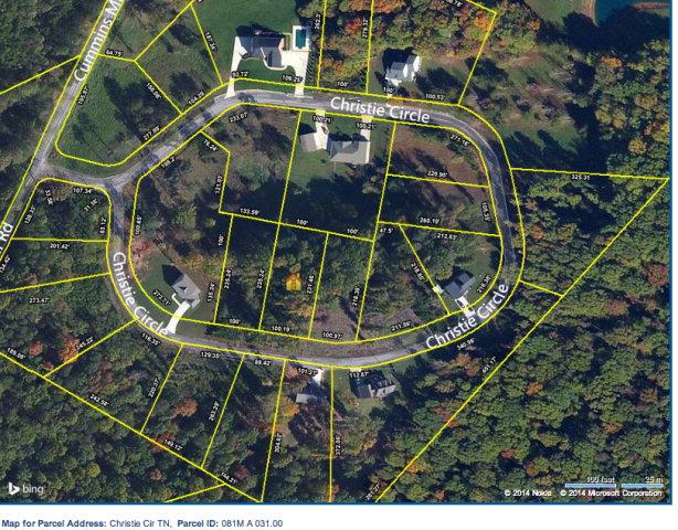 Land for Sale, ListingId:28992750, location: Lot 31 Christie Circle Cookeville 38506