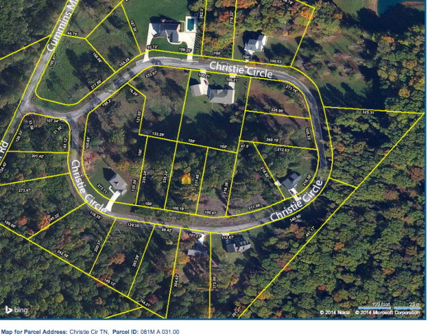 Land for Sale, ListingId:28992750, location: Lot 31 Christie Circle Cookeville 38506