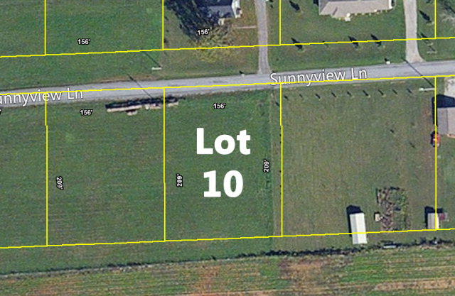 Land for Sale, ListingId:32573311, location: Lot 10 Sunnyview Lane Cookeville 38506