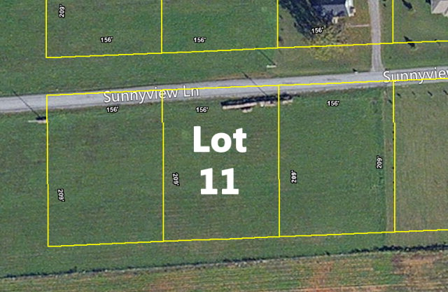 Land for Sale, ListingId:32573312, location: Lot 11 Sunnyview Lane Cookeville 38506