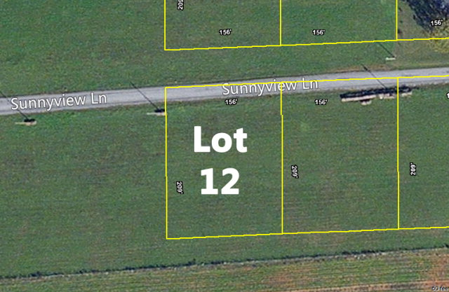 Land for Sale, ListingId:32573313, location: Lot 12 Sunnyview Lane Cookeville 38506