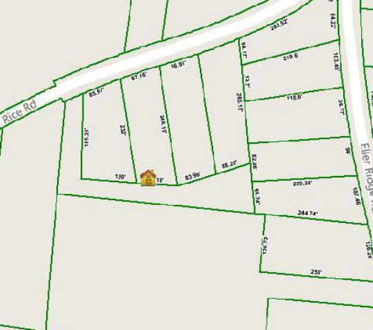 Land for Sale, ListingId:36996552, location: Lot 8 Henry Rice Road Cookeville 38506