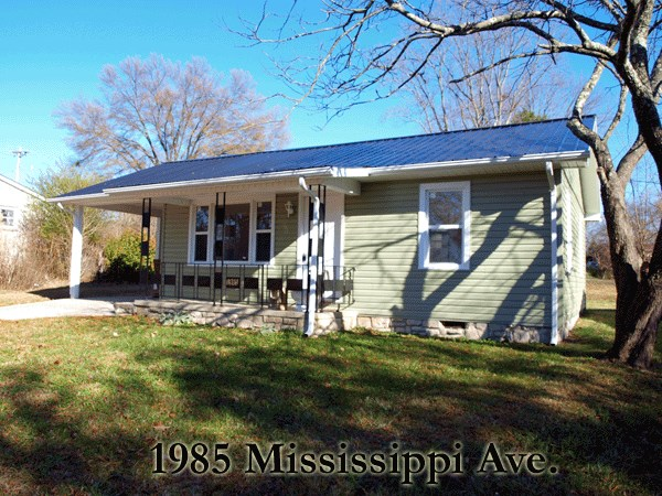 1985   1985 Mississippi Avenue  Cookeville TN 38501, COOKEVILLE, TN 38501