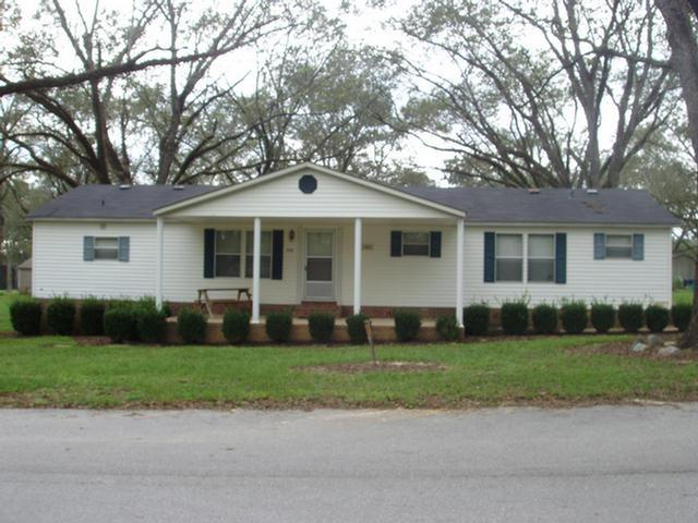 Great home for 1st time home buyers or for someone downsizing! This 3 BR/2 BA home is in great condition. Home sits on a permanent brick foundation/underpinning. It has a 10 x 26 front porch with white columns-very tastefully done. It has a concrete walkway and oversized concrete drive. The roads in the subdivision are county maintained. Public water system is monitored monthly by the State and is currently $40 per month. There was a new roof put on the house in 2010. Looking for a house with over 1500 sq ft at a affordable price. Call to take a tour of this one today! Property sold AS IS BRAND NEW HVAC Sept. 2019!!