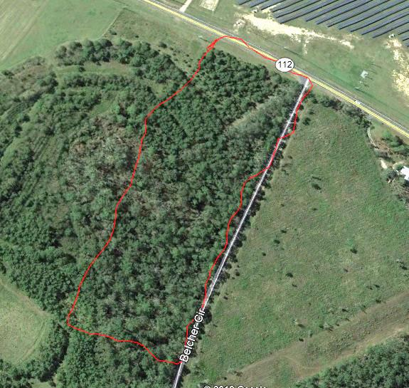 If your looking for acreage close to town then look no further. This is 8.5 acres on the corner of Belcher Road and Hwy 112 N. Call your favorite realtor to preview this land.