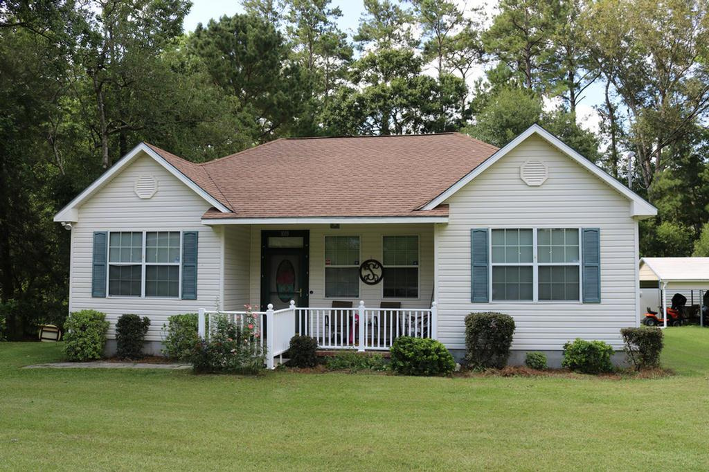 With attention to functionality, this 3 BR, two BA is a wonderful combination of comfort & style! Located less than a quick golf cart ride from Downtown Thomasville, this home is move in ready! Built in 2006, this 3 bedroom, 2 full bath home offers numerous modernization updates, crown molding, newer appliances & a fantastic location. Its easy to see that this beautiful home has been well-cared for by its current owners. The master suite is great for any couple having a double vanity, walk-in closet, and a private toilet room with a tub/shower combo. Youll also enjoy working on small projects in the wired workshop and carport to store your toys. Enjoy the nights on the back porch barbecuing with family and friends! This house is a must see for any homebuyer!