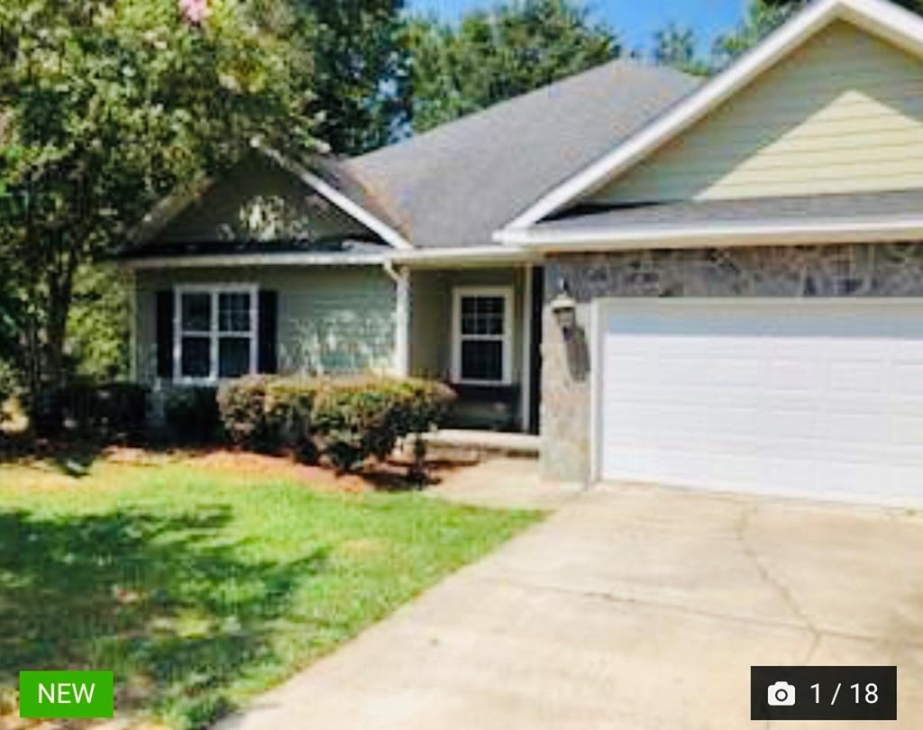 A PERFECT home for the PERFECT family!  This house has 4 bedrooms/2 baths with a spacious kitchen and great room with ample space.  Features wood flooring, open living with split bedroom floorplan all overlooking a covered deck to an above ground pool area.  Laundry with extra storage along with a 2 car garage. Surrounded by beautiful homes, this property is located conveniently to downtown Thomasville, the bypass and Hwy 19.  Take a look as it wont last long! Must have an appointment.