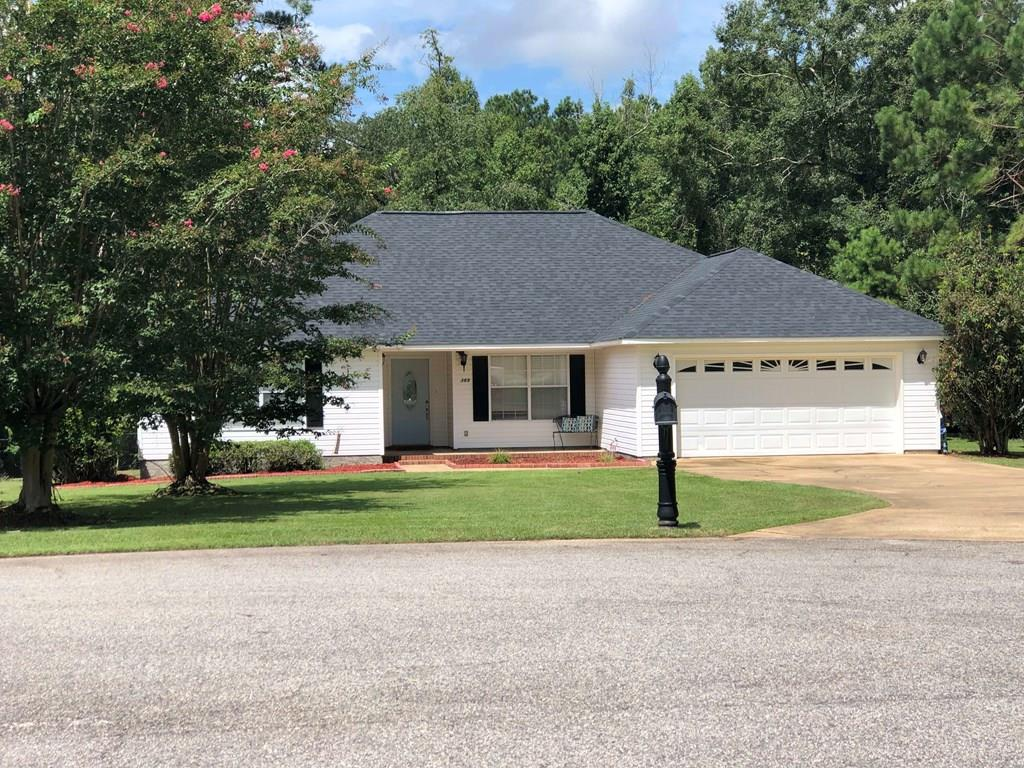 Home is very well kept! It has a new roof and owners have also installed hard surface counter tops and hardwood floors. 3BR, 2BATH, open floorplan, formal dining room, kitchen/breakfast area combo, large living room, fenced in back yard. Great for entertaining in a great location!