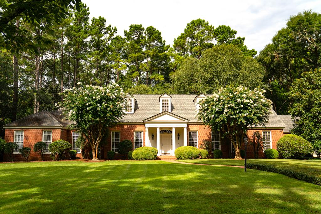 This lovely Georgian style residence is well located in one of Thomasvilles most desirable areas - Gordon Avenue. Built in 1984 (with a massive addition with updates throughout in 2004) and designed by the acclaimed Atlanta architect, Clem Ford, this property is a fine example of classical craftsmanship and construction with incredible attention to detail. The home consists of 6000 sq.ft, 4 bedrooms, 5.5 baths, and is situated on 4.59 beautifully landscaped and wooded acres. Interior details include old growth heart pine flooring throughout, custom cabinetry, intricate custom moldings, cedar closet, wet bar, butlers pantry, paneled study, second floor rec room, and much more. Beautiful french doors overlook a slate patio with a fountain and the private, wooded setting beyond- a perfect spot for outdoor entertaining. Other features include copper eaves and gutters, custom iron metal work, formal brick walkways, and professional landscaping.